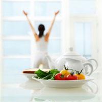 Свежие натуральные продукты имеют более сильное энергетическое поле
