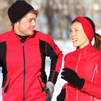 Как не замерзнуть во время зимней тренировки