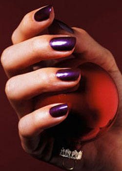 Маникюр на коротких ногтях.  250609-3 - Секреты маникюра.