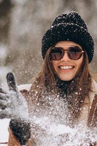 Солнцезащитные очки – и зимой и летом