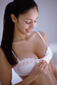 меряем окружность груди