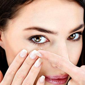 уход за контактными линзами