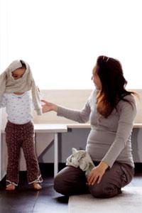 Ребенок одевается самостоятельно