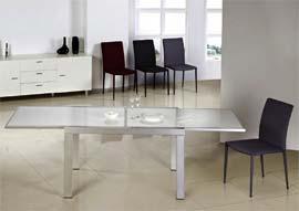 Скляний стіл трансформер